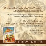 Ubby's Underdogs Launch Invitation